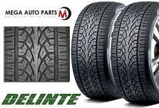 2 X Delinte Desert Storm D8+ 245/45ZR20 108W XL All Season Performance SUV Tires