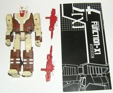 Fansproject Function-X1 Code Headmaster Chromedome Transformers G1 Style Complet
