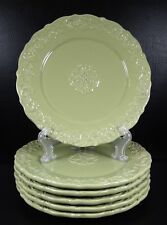 Home Essentials Madison Collection Set of 6 Salad Plates Sage Green