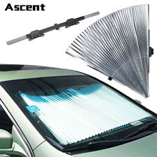 Car SUV Windshield Visor Retractable Window Sun Shade Cover Heat Insulation NEW