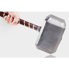 Thor Hammer 43cm Avangers Prop Marvel  Cosplay Real Model Base The Dark Toy Gift