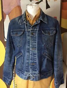 Vintage 1970s Wrangler Denim Jacket Skinhead,Suedehead,Bootboy