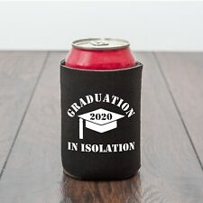 Graduation beer can cooler/lockdown/Beer lover/Funny drinks gift/Graduation gift