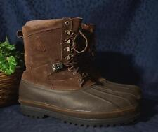 Brown Suede  ROCKY Winter Boots with Removable Liners Sz 14M