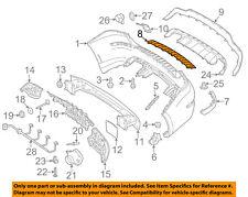 Rear Bumper-Step Pad Protector Scratch Guard Cover 2048850411