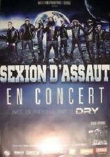 SEXION D'ASSAUT - Maitre Gims, Black M - Affiche 2013 - 70X100 cm - Neuve !!!