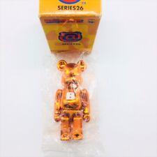"MEDICOM BEARBRICK SERIES 26 BASIC ""B"" Rare Metallic Orange Be@rBrick"