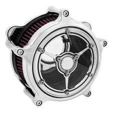 RSD Claridad Filtro de Aire Cromo , F. Harley-Davidson Flt y Softail desde 08-