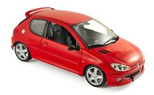 Peugeot 206 RC Aden Red 2003 1/18 - 184823 NOREV