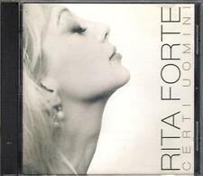"""RITA FORTE - RARO CD FUORI CATALOGO """" CERTI UOMINI """""""