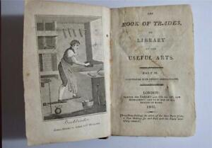 The Book of Trades part III, Souter, 1805, engravings