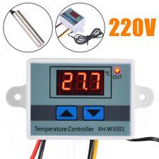 AC 220V Digital Temperaturregler Thermostat LED Control Temperatur Regler. DE