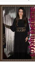 High Quality Lycra Arabic calligraphy,Farasha,Black Abaya,Jalabia with scarf