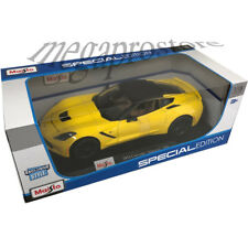 Maisto 2014 Chevy Corvette Stingray Z51 1/18 Diecast Model Car Yellow