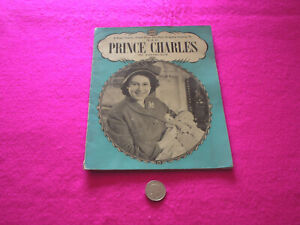 COLLECTABLE VINTAGE 'PRINCE CHARLES' ALBUM FROM QUEEN VICTORIA TO H.R.H.