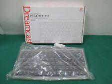 SEGA Dreamcast -- Keyboard HKT-4000 Clear -- DC. JAPAN. New. 32821