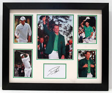 Danny WILLETT SIGNED Masters Champion FRAMED Card Display Autograph AFTAL COA