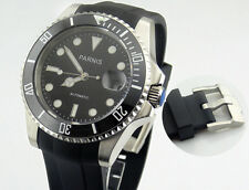 Parnis 40mm Ceramic Bezel sapphire glass Miyota automatic mens watch 1474