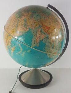 Globe Terrestrial Illuminated 'Hercules' Editions Stauffacher Sa