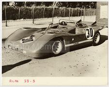 Alfa Romeo 33/3 Spider, gagnante de la Targa Florio - Photo Vintage 1971