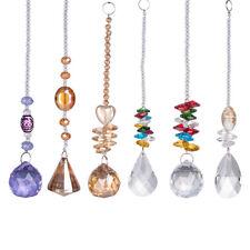 Longwin Set 6 Crystal Suncatcher Ornament Rainbow Maker Xmas Pendant Decor Craft