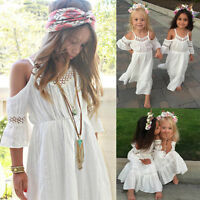 Girl Princess Dress Kids Baby Wedding Pageant Ball Lace Dresses Clothes Hots