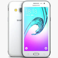 Brand New SAMSUNG Galaxy J3 8GB *2016* WHITE UNLOCKED SMARTPHONE **DUAL SIM**