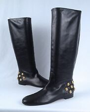 Gucci 'Babouska' Heel Studded Boot- Black- Size 7 US/ 37 EU  $1498  (B25)