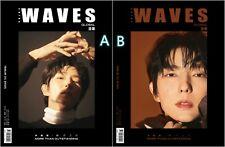 LEE JOON GI WAVES China Magazine January 2021 + Official Poster & Card