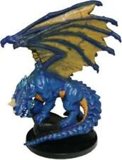 D&D Miniature -  LARGE BLUE DRAGON  #38  (Deathknell Series - RARE and UNUSED!!)