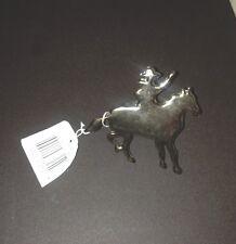 New listing Cowboy Napkin Ring Silvertone Western Set 4