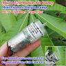Small 370 Motor Air Pump DC 5V 6V Oxygen Mute Pump For Aquarium Water Fish Tank
