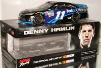 2015 DENNY HAMLIN #11 FEDEX OFFICE AUTOGRAPHED 1/24 CAR#699/700 AWESOME SIGNED