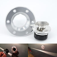 Universal Billet Aircraft Style Fuel Cell Gas Cap Flush Mount 6 Hole ID 45mm T