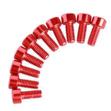 10pcs M3X10MM Hex Round Head Aluminum Screws M3*10MM Cup Head Screw for RC toys