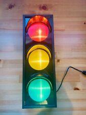 Flashing Traffic Light Novelty Lamp Red Yellow Green Fun Decor
