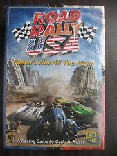 Road Rally USA, A Racing Game By Carlo A. Rossi Mayfair Games 2013,#4126 NIB