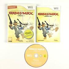 Sam & and et Max Saison 1 Wii / Jeu Sur Nintendo Wii Complet