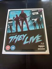 They Live 4K UHD Blu-ray Soundtrack 4-Disc Collector's Edition