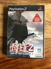PlayStation 2 PS2 Way Of The Samurai 2 /Jap/neuf/new And Sealed