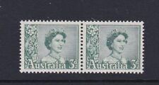 AUSTRALIA 1959 3d Definitive MNH Pair SG311