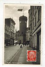 1934 Cottbus Germany RPPC Cover Postcard to Lucerne Switzerland Spremberg Tower