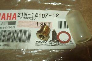 YAMAHA BW80  PW80  Y-ZINGER  GENUINE NEEDLE / FLOAT VALVE SET - # 21W-14107-12