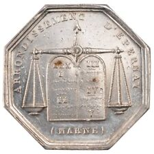 [#57781] France, Notary, Token, Au(55-58), Silver, Lerouge #127, 14.00