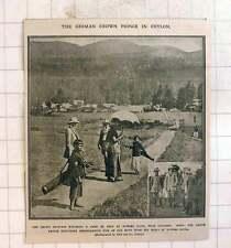 1910 German Crown Prince In Ceylon, Nuwara Eliya Golf Course
