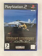 PS2 Energy Airforce Aim Strike (2005), UK Pal, Brand New & Factory Sealed