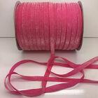 "New 5 yards 3/8""10mm Sparkle Glitter Velvet Ribbon Headband Craft supplies #30"