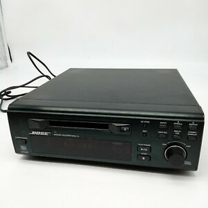 Bose <MDA-12> Mini Disk Player Recorder Black Used MD player