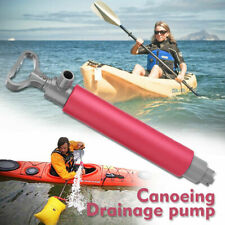 Manual Hand Kayak Pump Water Bilge Canoe Dinghy for Rescue Emergency Safety