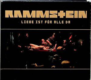 RAMMSTEIN- Liebe Ist Fur Alle Da CD (2009 Digipak/Booklet)